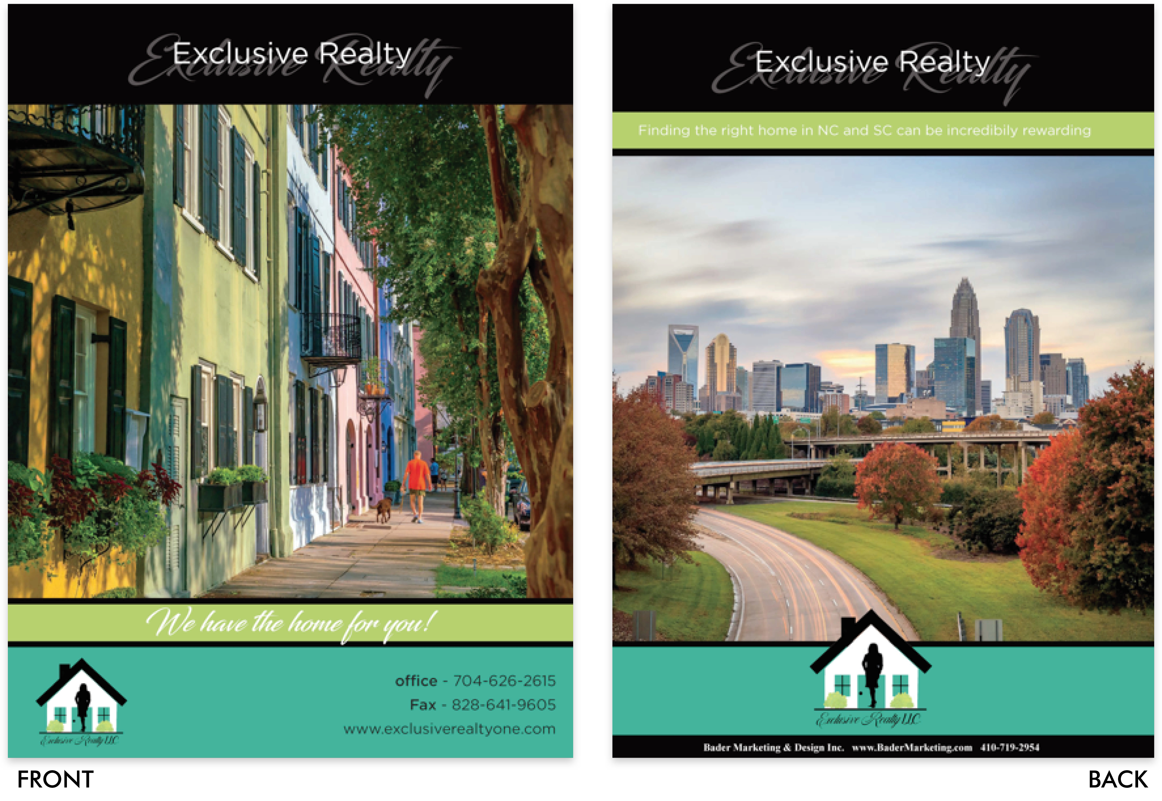 Exclusive Realty Folder
