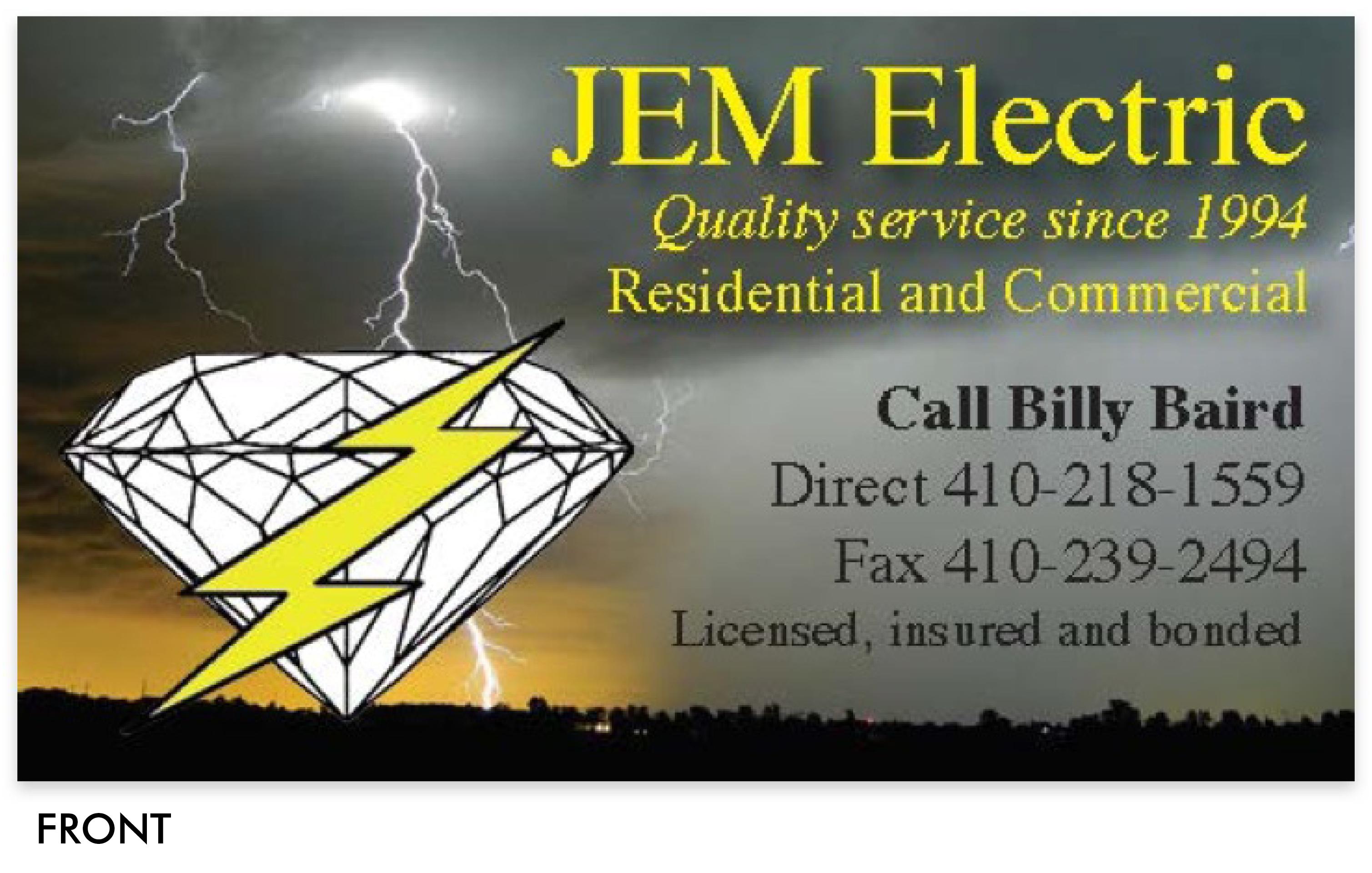 JEM Business Card